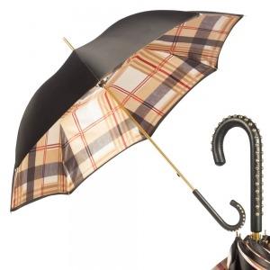 Зонт-трость Pasotti Nero Square Dossi фото-1