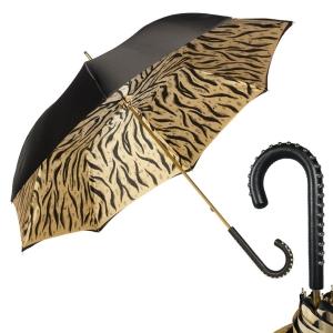Зонт-трость Pasotti Nero Tiger Dossi фото-1
