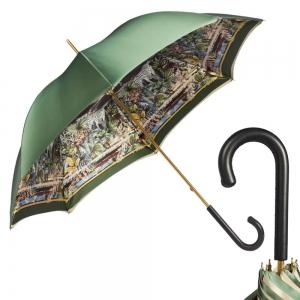 Зонт-трость Pasotti Oliva Africa Classic Pelle фото-1