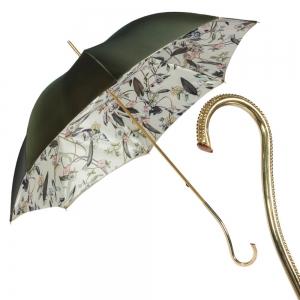 Зонт-трость Pasotti Oliva Foresta Pico Oro фото-1