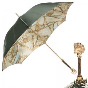 Зонт-трость Pasotti Oliva Rig Horse Oro фото-1