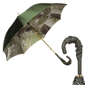 Зонт-Трость Pasotti Oliva Felce Pelle  фото-1