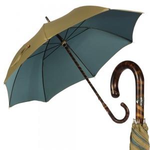 Зонт-трость Pasotti Smocked Hikory Sahara фото-1