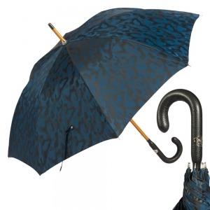 Зонт-трость Pasotti Pelle/Legno Divorzi Blu фото-1
