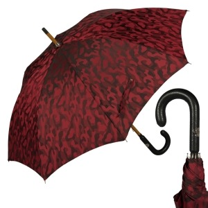 Зонт-трость Pasotti Pelle/Legno Divorzy Red фото-1