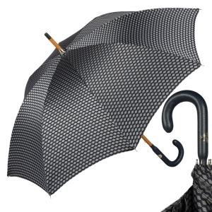 Зонт-трость Pasotti Pelle/Legno Atene Blu фото-1