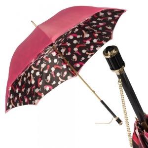 Зонт-трость Pasotti Pink Hot Vetro фото-1