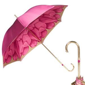 Зонт-трость Pasotti Rosa Georgin Oro фото-1