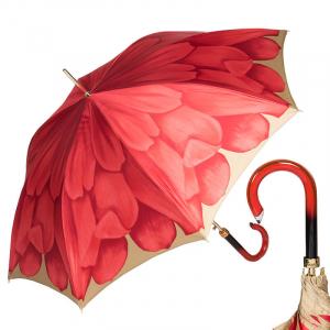 Зонт-трость Pasotti Uno Georgin Koral фото-1
