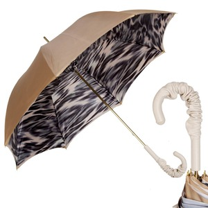 Зонт-трость Pasotti Sand Draft Pelle фото-1