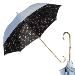 Зонт-трость Pasotti Sky Birds Oro фото-1