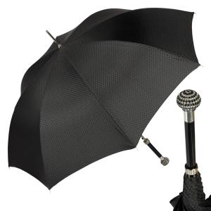 Зонт-трость Pasotti Swarovski Black Premium фото-1