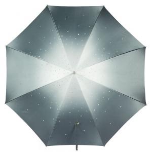 Зонт-трость Pasotti Swarovski Grigio фото-3