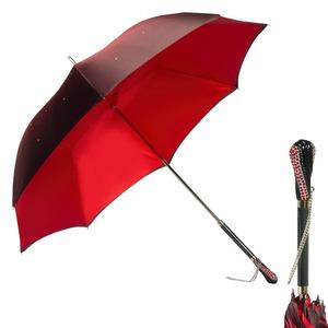 Зонт-Трость Pasotti Swarovski Rosso фото-3