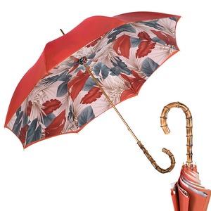 Зонт-трость Pasotti Terracotta Felce Bamboo фото-1