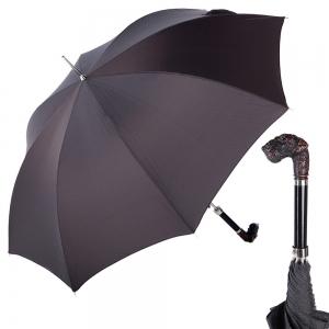 Зонт-трость Pasotti Terrier Onda Black фото-1