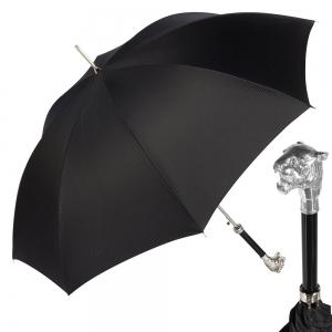 Зонт-Трость Pasotti Tiger Silver Niagara Black фото-1