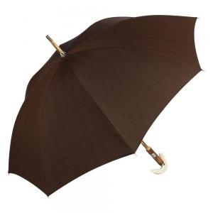 Зонт-трость Pasotti Tooth Milford Marrone фото-4