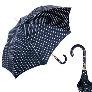Зонт-трость Pasotti Uno Dots Blu/White Panno фото-1