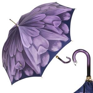 Зонт-трость Pasotti Uno Georgin Viola фото-1
