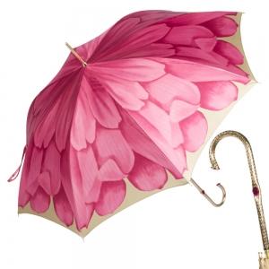 Зонт-трость Pasotti Uno Gergin Rosso Oro фото-1