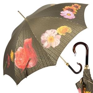 Зонт-трость Pasotti Uno Pazzle Black фото-1
