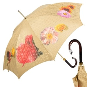 Зонт-трость Pasotti Uno Pazzle Sand фото-1