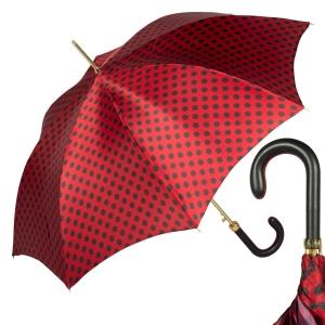 Зонт-трость Pasotti Uno Pois Rosso фото-1