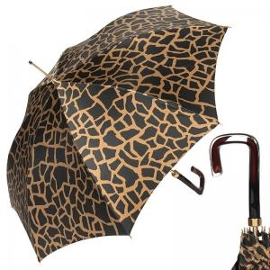 Зонт-трость Pasotti Uno Safari Marrone Quattro фото-1