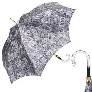 Зонт-трость Pasotti Uno Snake Grigio фото-1