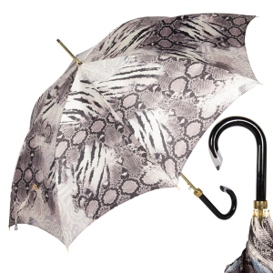 Зонт-трость Pasotti Uno Snake Gris фото-1