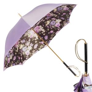 Зонт-трость Pasotti Viola Briar Lilla Rapira фото-1