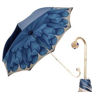 Зонт-трость Pasotti Blu Georgin Sfera фото-1