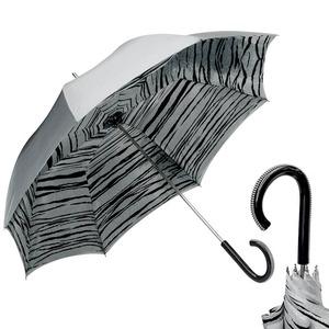 Зонт-Трость Pasotti Becolore Grigio Tiger Plastica Pico фото-1