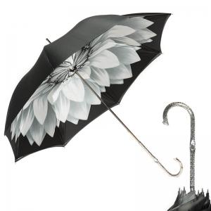 Зонт-трость Pasotti Becolore Georgin Grigio Nickel фото-1