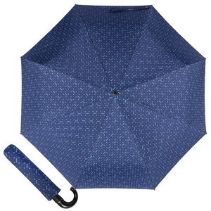 Зонт складной Moschino 8505-ToplessF Man dots Blue фото-1