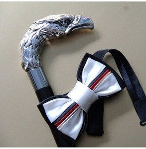 Зонт складной Pasotti Auto Eagle Silver Onda Black фото-5