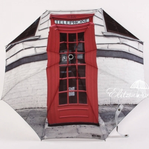 Зонт складной Moschino 482-OCA London фото-1
