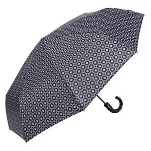 Зонт складной Baldinini 53-OC Print Grey/Black фото-2