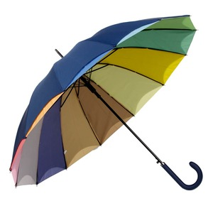 Зонт-трость Guy De Jean 6397-LA Rainbow Blu фото-1