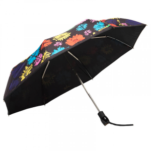 Зонт складной Moschino 8003-OCA Flowers Multi фото-2
