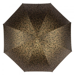 Зонт-трость Pasotti Leone Gold Reflection Oliva фото-3