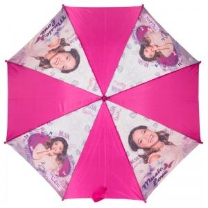 Зонт-трость Детский Disney Violetta Pink фото-2