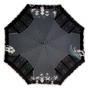 Зонт-трость Emme M382B-LA Fashion Nero фото-2