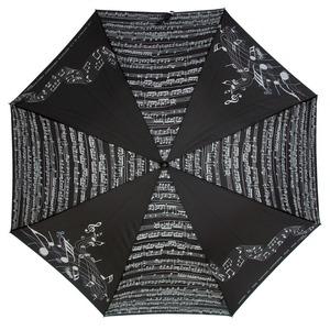 Зонт-трость Emme M389A-LA Linea Music Nero фото-2