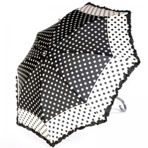 Зонт-трость Ferre 3030-LA Pois Nero New фото-1