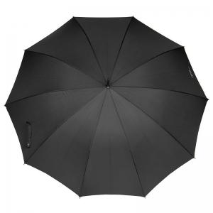 Зонт-трость Ferre 3043B-LA Bamboo Black фото-4
