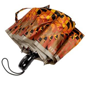 Зонт складной Ferre 348-OC Logo Orange  фото-2