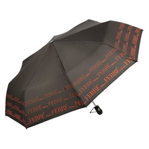 Зонт складной Ferre 6014-OC Line Black фото-2