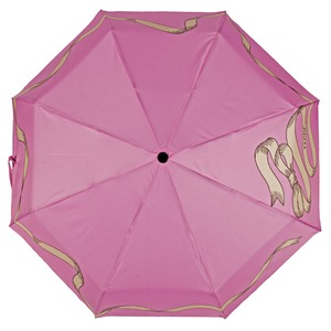 Зонт складной Ferre 6021-OC Tape Pink фото-3